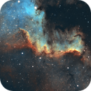 Cygnus Wall in NGC7000,                                Michael Feldberg