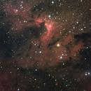 Sh2-155 Cave Nebula - HaRGB,                                Phil Brewer