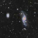 NGC 3718 and NGC 3729 - interacting galaxies in UMa. Distant group Hickson 56,                                Nikita Shamorgin