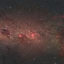 Milky Way, from Centaurus to Vela,                                Laurent Fournet