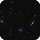 NGC 5963 & 5965 galaxies in Draco,                                Barry Wilson