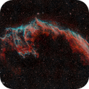 Eastern Veil Nebula in Bortle 9,                                minhlead