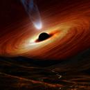 Space art (black hole simulation),                                Alan Ćatović