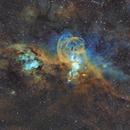 NGC 3576 The Statue of Liberty Nebula,                                KaedekaShizuru