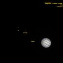 Jupiter and his moons,                                Carlos Alberto Pa...
