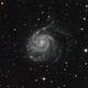 M101 - Pinwheel Galaxy,                                Stephan