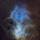 Sh2-132 •The Lion Nebula in SHO,                                Douglas J Struble