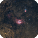 M8 - the Orionnebula of Summer,                                Gabriel Siegl