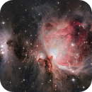 Great Orion nebula - M42,                                Max Gillet