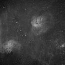 IC405 Ha,                                M. Levens