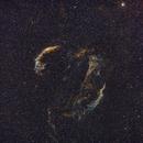 Cygnus Loop in Bicolor H2 i O3,                                Marek Smiatacz