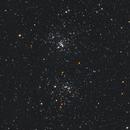 """ngc869 & 884 """"the double cluster"""",                                Bert Scheuneman"""