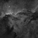NGC6188 Ha Full Moon,                                Ben