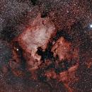 NGC7000,                                hydrofluoric