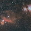 M42 + IC434 grand champ,                                LAMAGAT Frederic