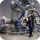 3.5 meter telescope Calar Alto,                                Christian Dahm
