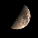 First Quarter Moon (or half?),                                Georg G Albrecht