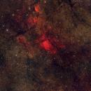 """Sh2-86 / NGC6820 / M27 Redcat51 Widefield"" - 250mm L-RGB-HO (RGB - Duo Narrwoband Combination ),                                Thomas Großschmidt"