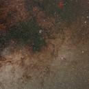 Via Láctea en Scorpio,                                J_Pelaez_aab