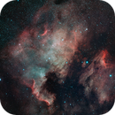 North America and Pelican Nebula Mosaic,                                Loran Hughes