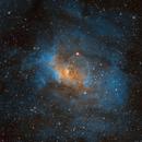 The Bubble Nebula (NGC 7635),                                JMDean