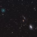 LoTr 5 and its galactic neighbors, NGC 4725 & NGC 4747,                                Sabine Gloaguen