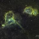 Heart and Soul Nebulas in SHO,                                Jérémie