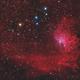 IC405 - Flaming Star Nebula,                                Victor Van Puyenb...