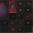 My large planetary nebulae collection status,                                Stephane ZOLL