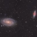 M81 & M82,                                Yizhou Zhang