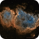 IC 1848 - Reprocess (Seperate DSO and Stars),                                Paddy Gilliland