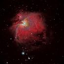 M42 - The Great Orion Nebula,                                Kurt Zeppetello