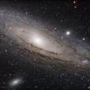 M31 Andromeda Close up shot,                                Jocelyn Podmilsak