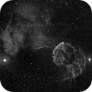 The Jellyfish Nebula captured with dual refrators,                                Kevin Dixon