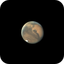 Animation of three hours twenty minutes of Mars rotation 10/01/2020,                                Anthony Quintile