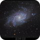M33 processed with PI and PS captured with SGP,                                rigel123
