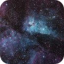 Nebulosa  de Carina,                                Cosmonauta