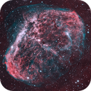 Crescent Nebula in HOO,                                Rathi Banerjee