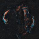 Veil Nebula 2 panel Mosaic,                                Hollis