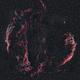 Cygnus Loop / Veil Nebula w/ DSLR & L-eNhance,                                Jeffrey Horne