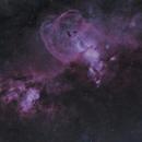 NGC3567 Statue of Liberty Nebula,                                jbradsh
