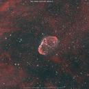 NGC 6888 in bicolor (Ha+OIII),                                Salvatore Cozza