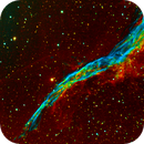 NGC-6960 Western Viel Nebula,                                Cy Borg