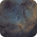 IC 1396: Elephant Trunk - Synthetic SHO from HRGB filters,                                rhedden
