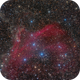 Sh2-126, LBN 437... Dust and hydrogen in Lacerta,                                Alberto Pisabarro