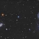 "NGC4151 "" l'oeil de Sauron ""  -  NGC4145,                                Gkar"
