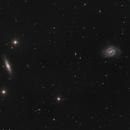 NGC 4535, NGC 4526, NGC 4518 in LRGB bin 2x2,                                Uwe Deutermann