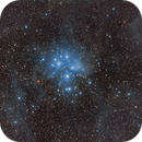 M45 - The Pleiades - Seven Sisters,                                David Augros