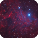 IC405 in Ha - SHII+B - B Blend,                                Christopher Gomez