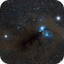 Reflection Nebula in Corona Australis, with NGC6723 and friends...,                                AstroTanja